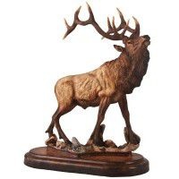 Wapiti Elk Sculpture