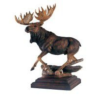 In His Prime Moose Sculpture