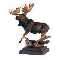 In His Prime Moose Sculpture