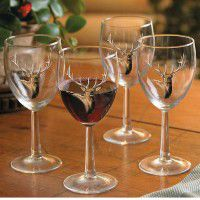 Elk Wine Glasses (Set of 12)