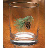 Pine Cone Double Old Fashion (Set of 12)