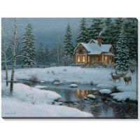 Harden's Hideaway Gallery Wrapped Canvas - Discontinued