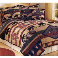 Yuma Bear Fleece Bed Sets