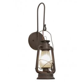 "7""W Miner's Lantern Wall Sconce"