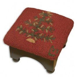 Feather Tree Cricket Footstool