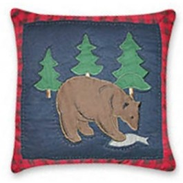 Timberline Bear Pillow