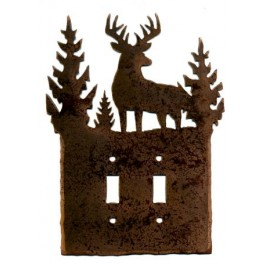 Whitetail Buck Switch Plates