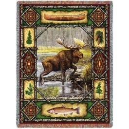 Moose Lodge Throw