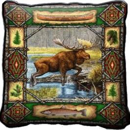 Moose Lodge Pillow