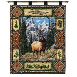 Elk Lodge Wall Hanging