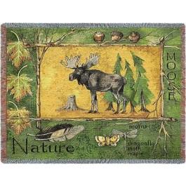 Nature Moose Afghan