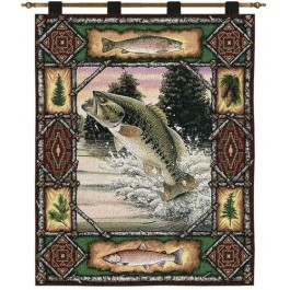 Fish Lodge Wall Hanging
