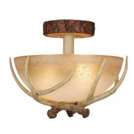 Lodge Antler Ceiling Light