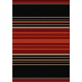 Heart Strong Stripe Area Rugs