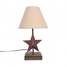"18.5"" Barn Star Lamp"