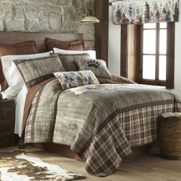 Bear Mirage Quilted Bedding Collection