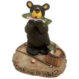 Catch and Do What? Bear Figurine- DISCONTINUED