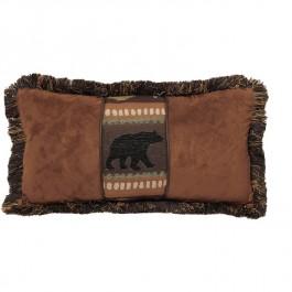 Bear and Chestnut  Pillow