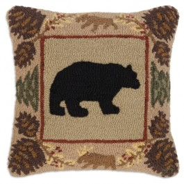 Northwoods Bear Pillow
