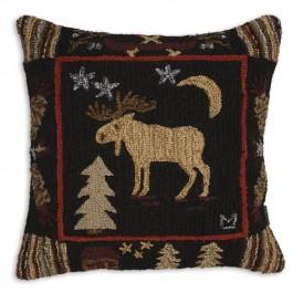 """Night Moose 26"""" Pillow"""