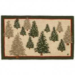 Frosted Trees Rug 3x5