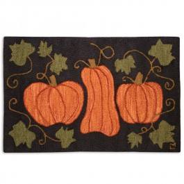 Pumpkin Patch Accent Rug