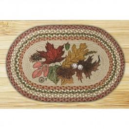 Autumn Leaves Braided rug