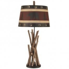 Bear Stick Table Lamp