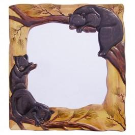 Mama Bear and Cubs Mirror
