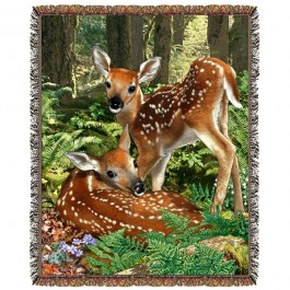 Deer Twins Afghan