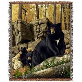 Den Mother Bear Afghan