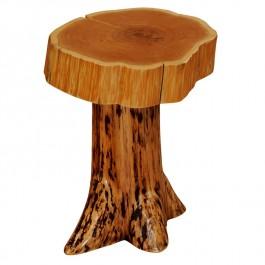 Cedar Stump Nightstand