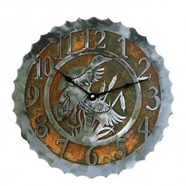 Ducks & Cattails Clocks