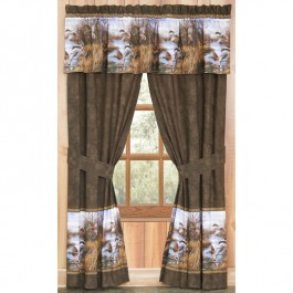 Duck Approach Drapes and Valance