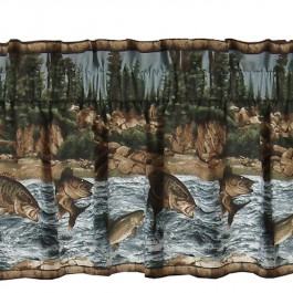 River Fishing Valance -DISCONTINUED