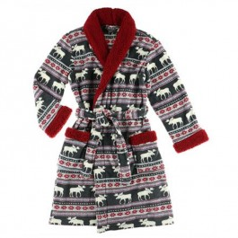 Moose Fair Isle Bathrobe