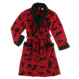 Classic Moose Bathrobe