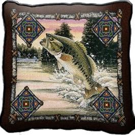 Fish Lodge Pillow