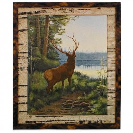 Lakeside Elk Wall Hanging