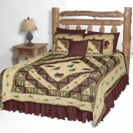 Forest Log Quilts