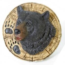 Bear and Track Drawer Knob