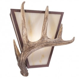 Vegas Antler Single Sconce