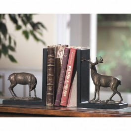 Deer Bookends