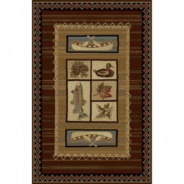 Lodge Retreat Area Rug