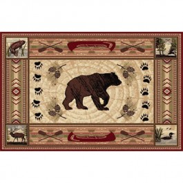 River Bear Area Rugs