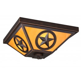 Texas Ranger Ceiling Light
