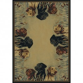 Labs in Marsh Rug Collection