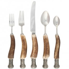 Anter Flatware with Queen Crown Ends