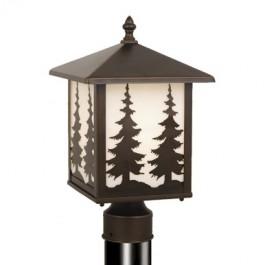 Yosemite Pine Tree Post Light