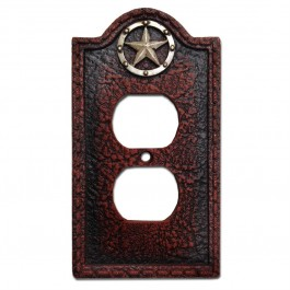 Resin Lone Star Switch Covers